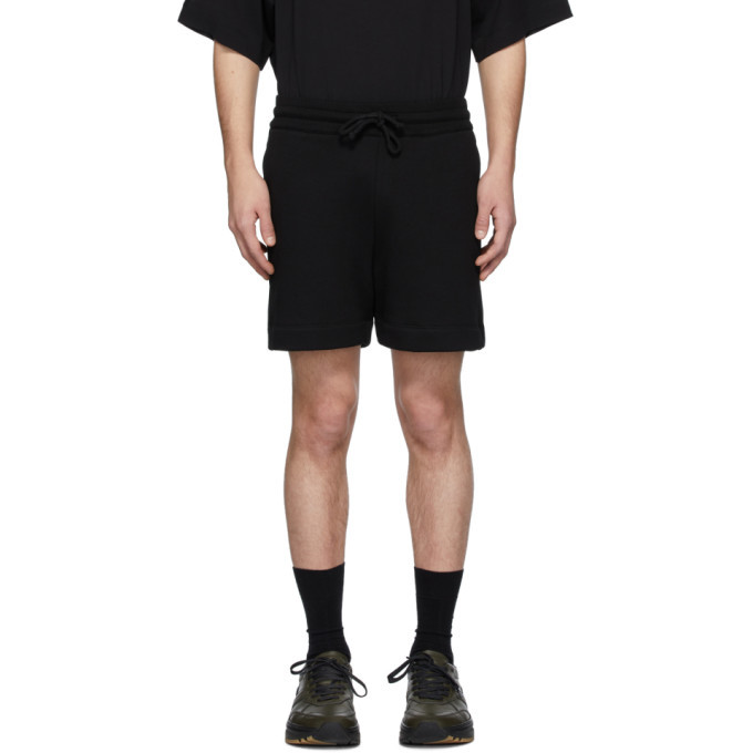 Photo: Dries Van Noten Black Hestala Lounge Shorts