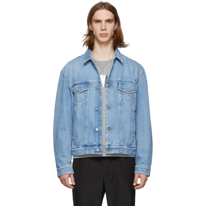 Photo: Valentino Blue Denim Jacket
