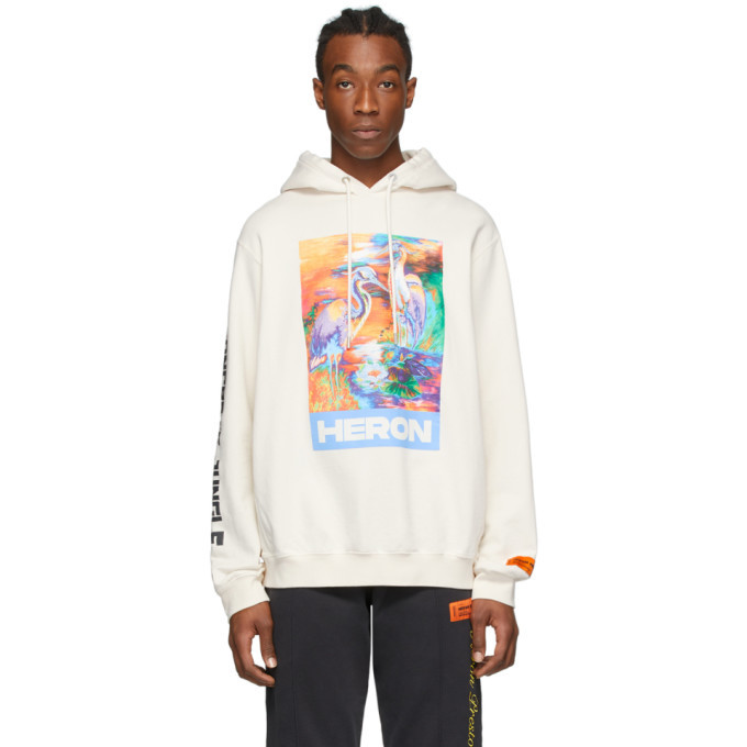 Photo: Heron Preston Off-White Heron Colors Ribs Hoodie