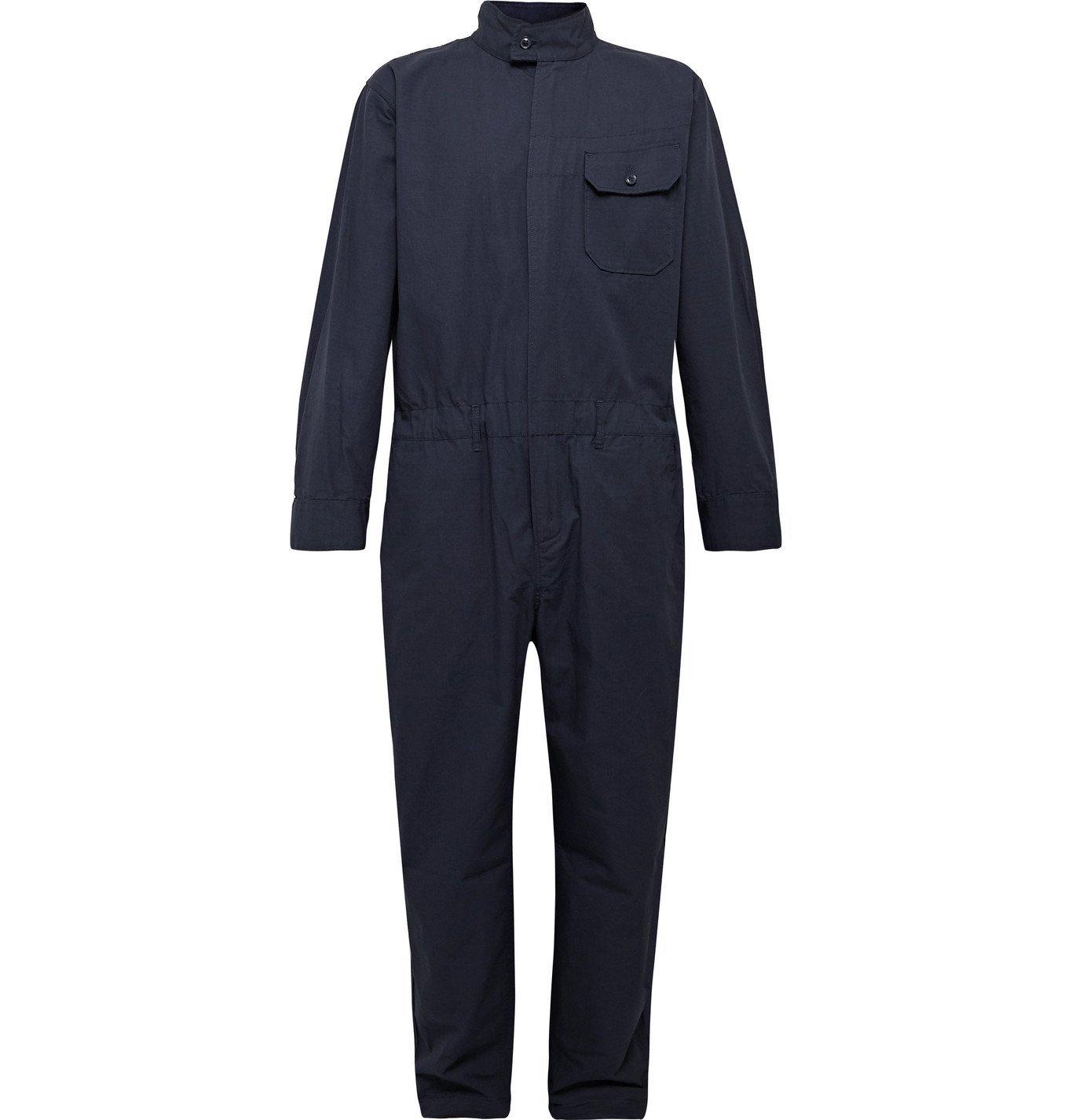 Photo: Engineered Garments - Cotton-Ripstop Jumpsuit - Blue