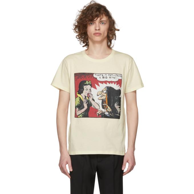 007a0061779b Gucci White Snow White T-Shirt Gucci