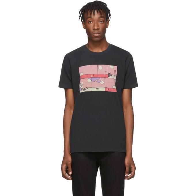 Photo: Nudie Jeans Black Rebirth Roy T-Shirt