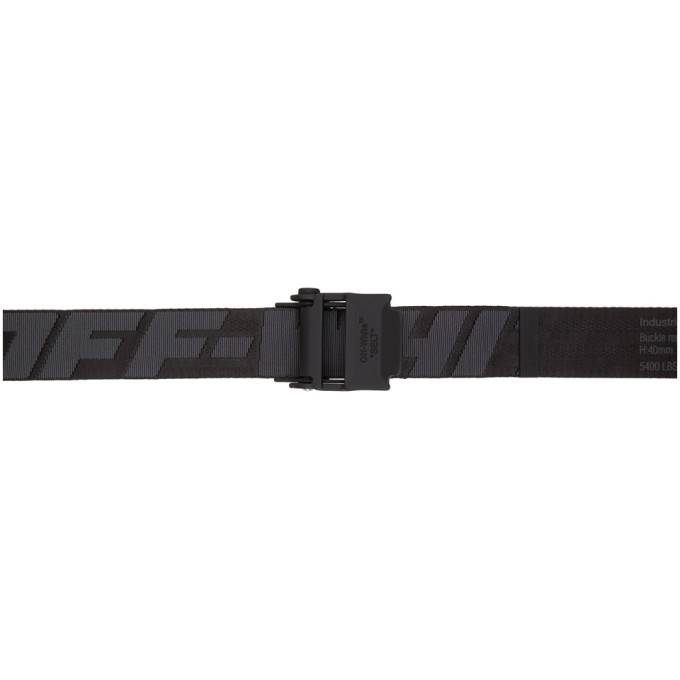 Photo: Off-White Black and Grey 2.0 Industrial Belt