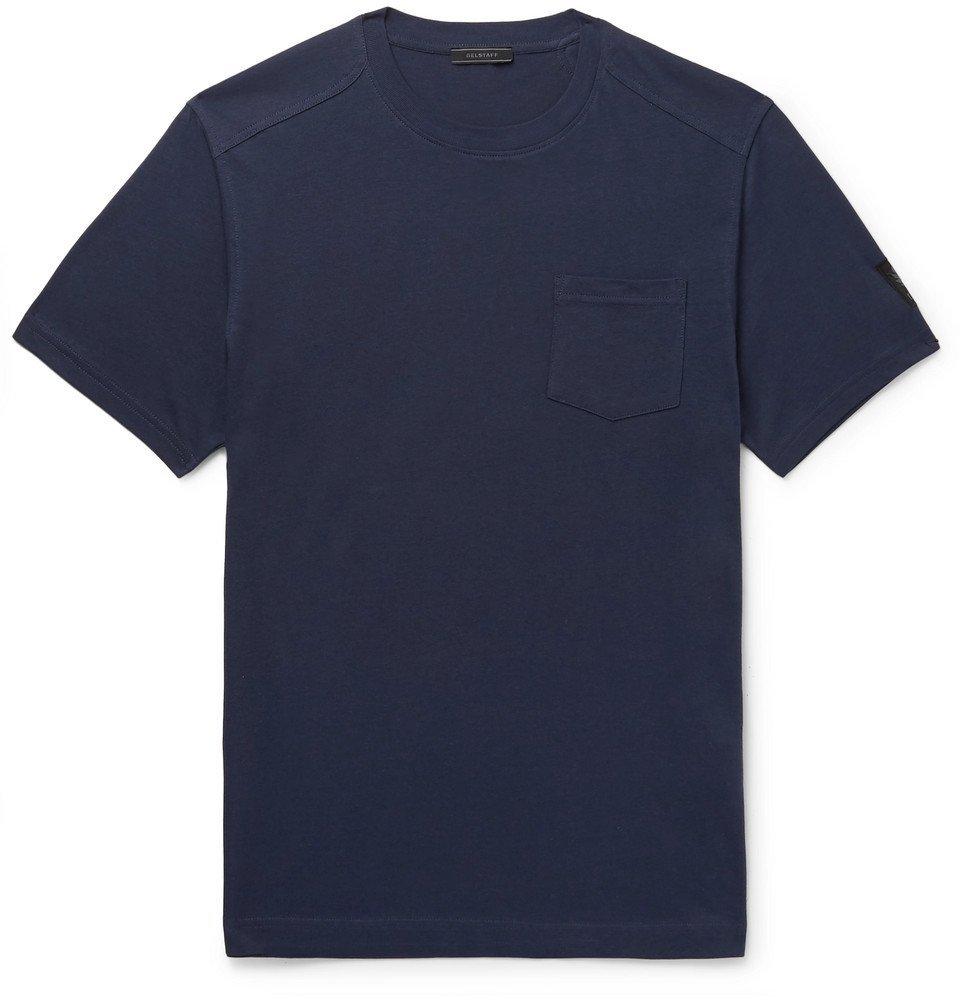 Belstaff - Thom Cotton-Jersey T-Shirt - Men - Navy