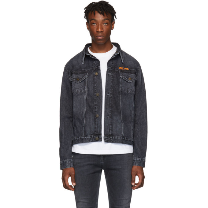 Photo: Calvin Klein Jeans Est. 1978 Grey Trucker Jacket