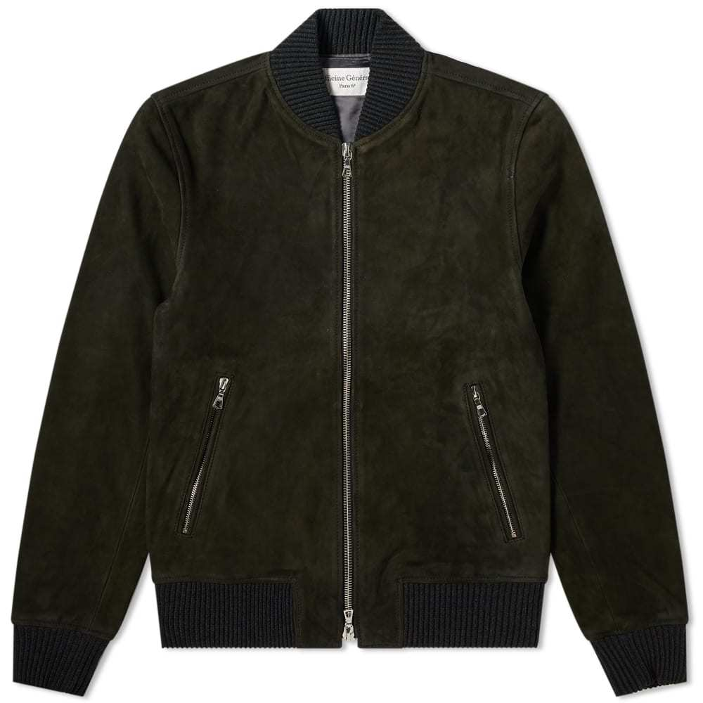 Photo: Officine Generale Todd Suede Bomber Jacket