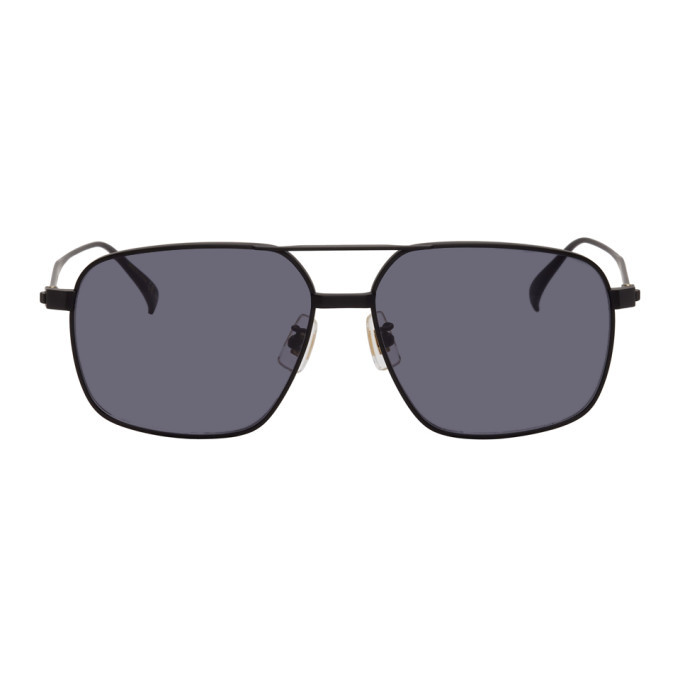Dunhill Black Titanium Aviator Sunglasses