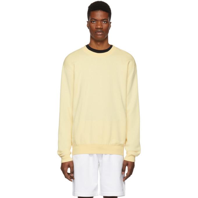Photo: John Elliott Yellow Vintage Crewneck Sweatshirt