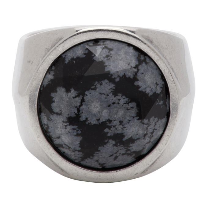 Photo: Isabel Marant Black Alto Ring