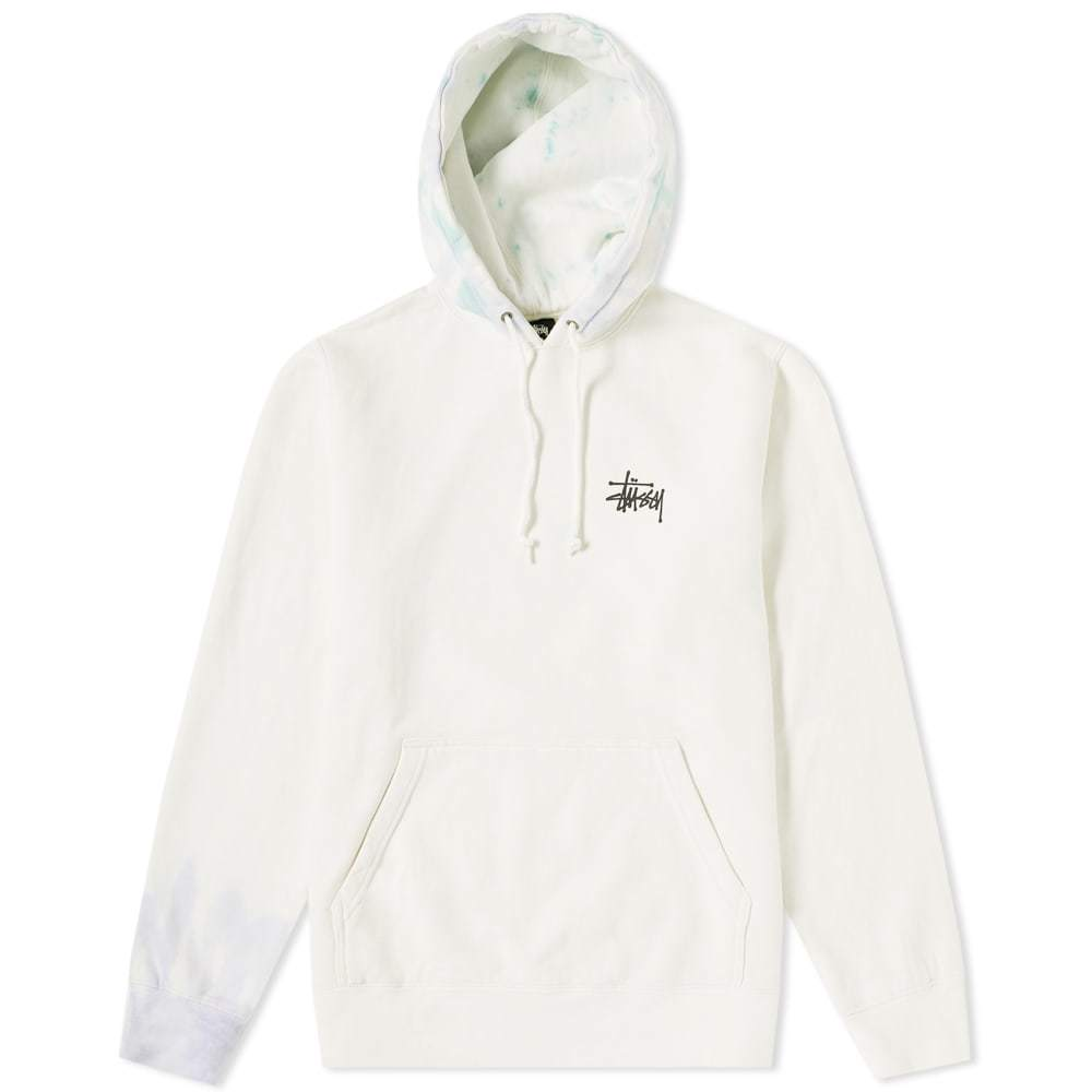 Photo: Stussy Basic Tie Dye Hoody Neutrals
