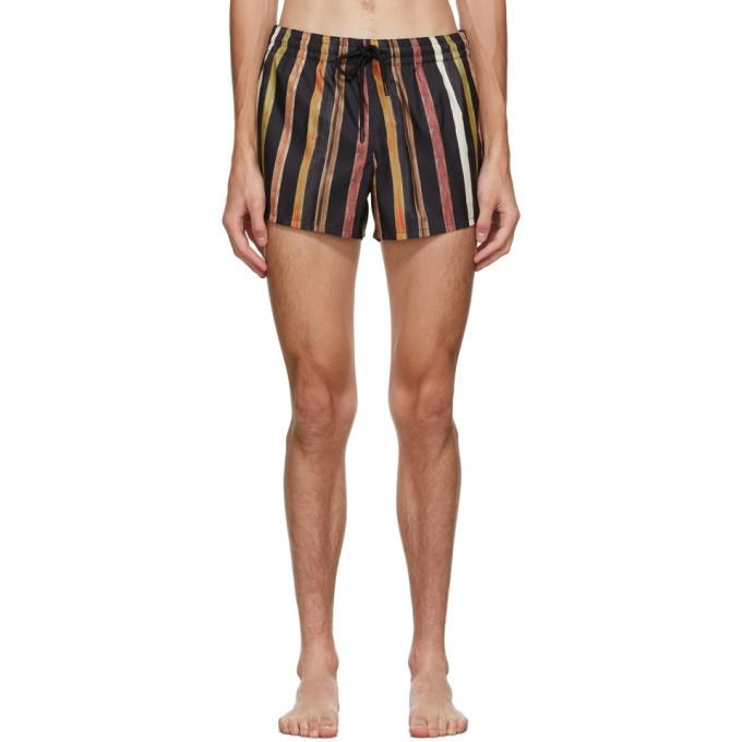 Photo: COMMAS Multicolor Solar Stripe Swim Shorts
