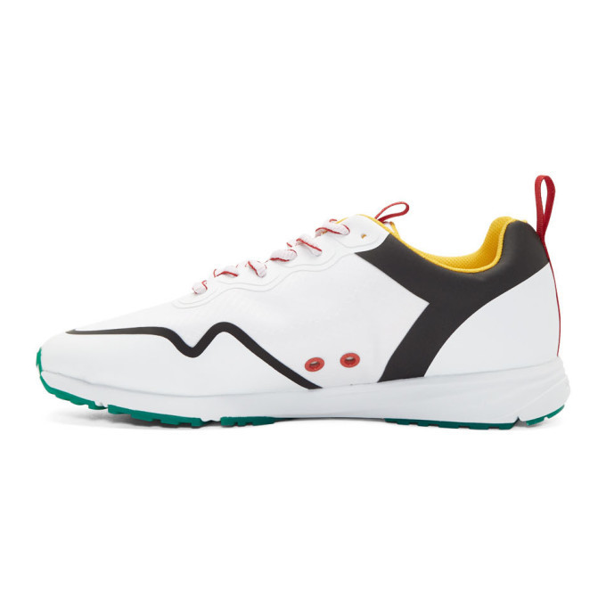 PS by Paul Smith White Saber Sneakers