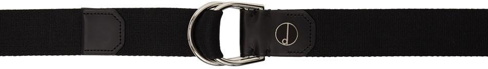 Dunhill Black D Ring Belt