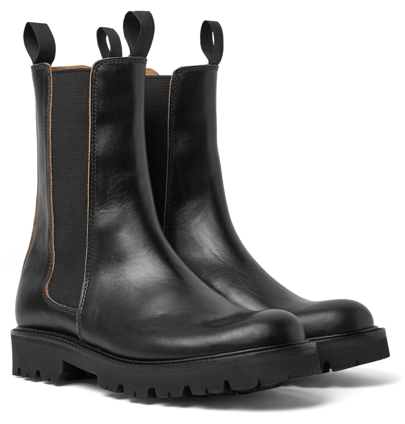 Photo: Grenson - Huxley Chromexcel Leather Chelsea Boots - Black