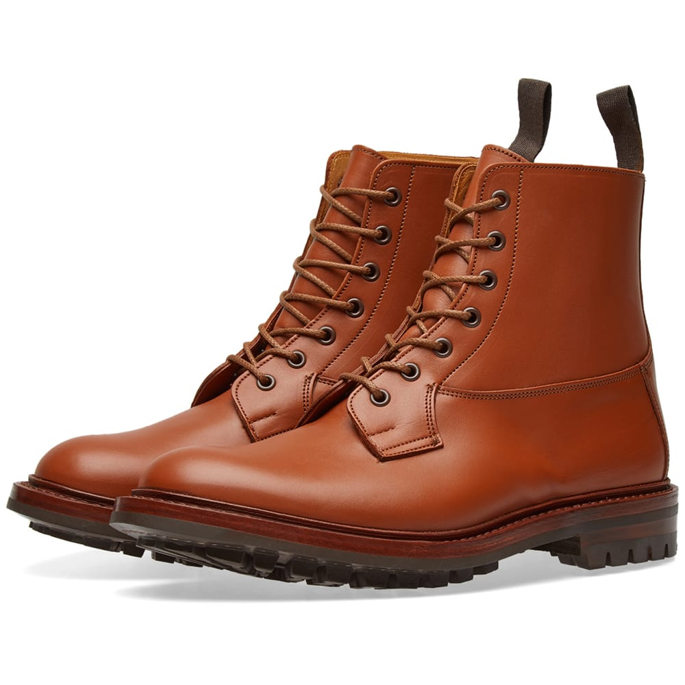Photo: Tricker's Commando Sole Wetherby Derby Boot