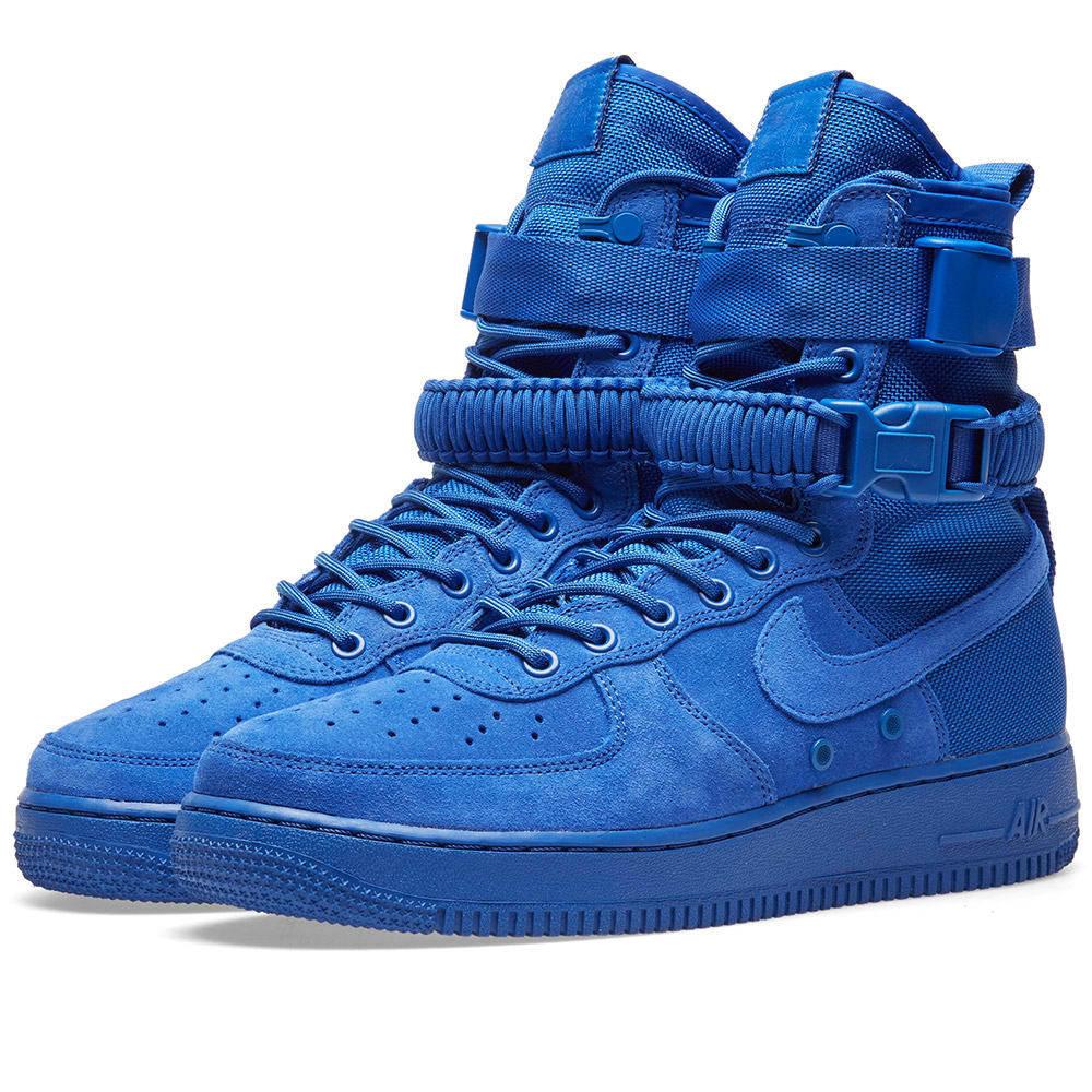 Nike SF Air Force 1 Hi Boot Blue Nike