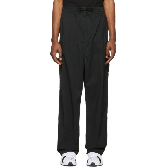 Photo: Y-3 Black Twill Wide Trousers