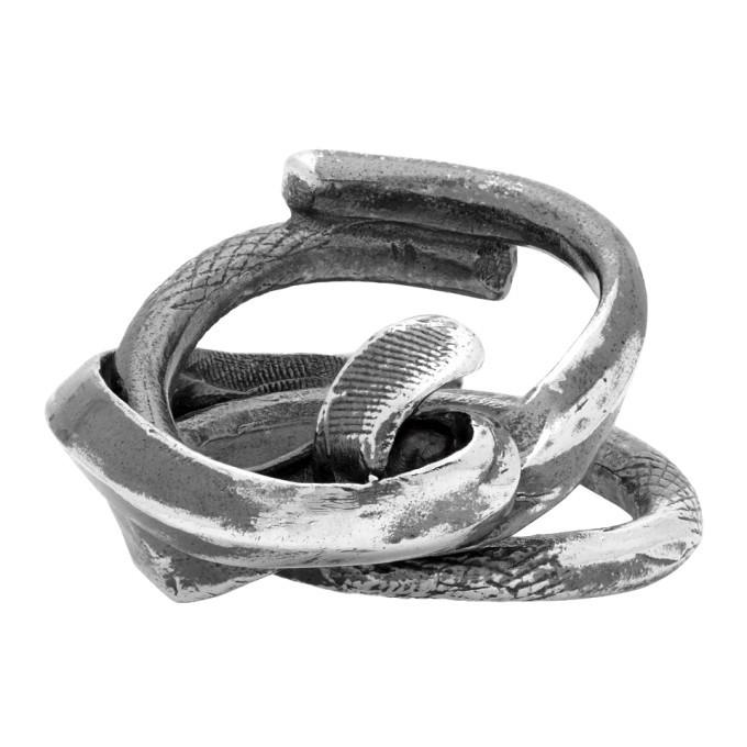 Photo: Chin Teo Silver Poesy Ring