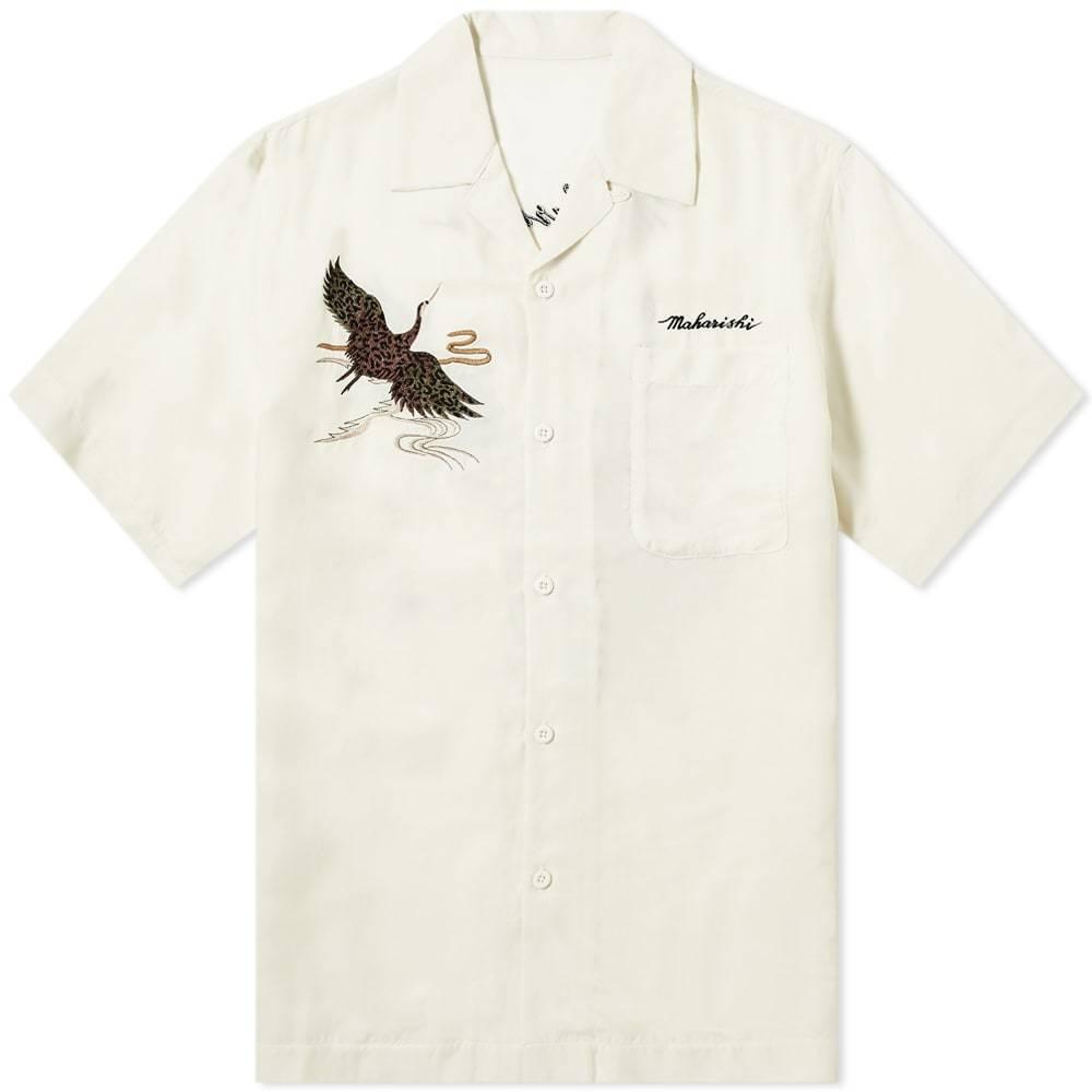 Photo: Maharishi Crane Silk Vacation Shirt