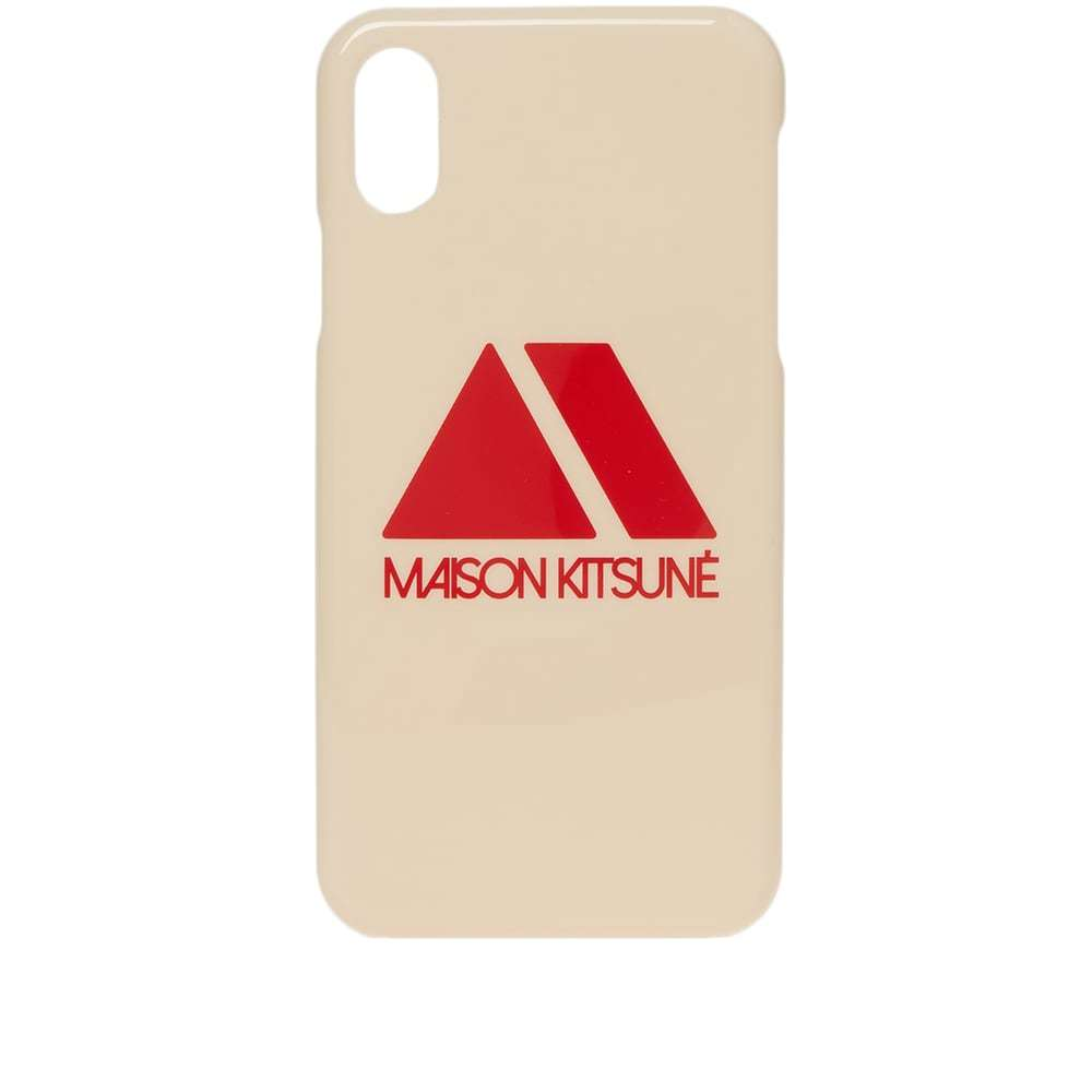 Photo: Maison Kitsuné iPhone X Triangle Case