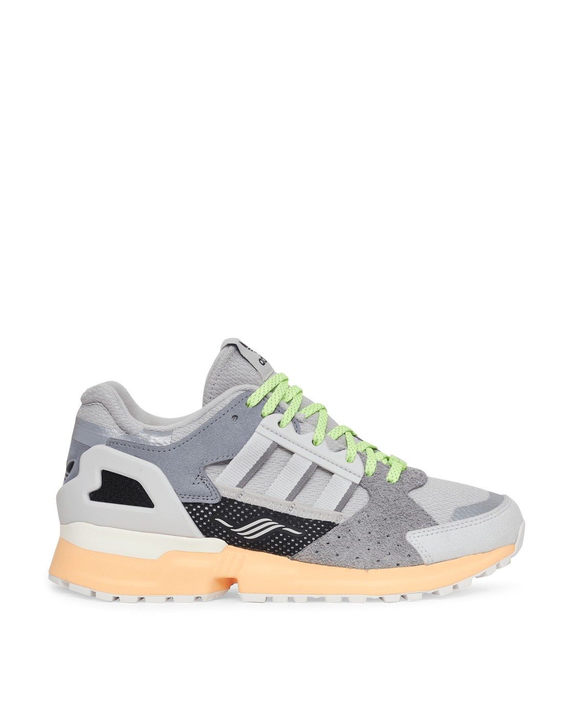 Photo: Adidas Originals Zx 10000 Sneakers Grey Two/Crystal White