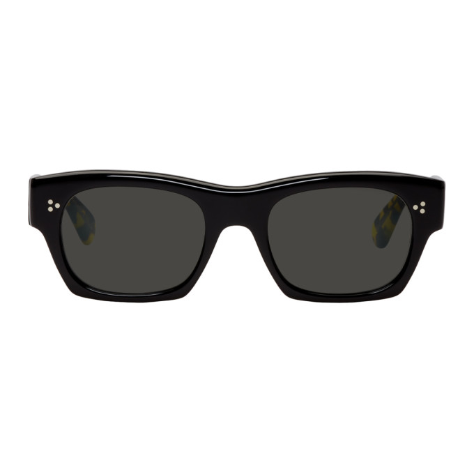 Oliver Peoples Black Isba Sunglasses