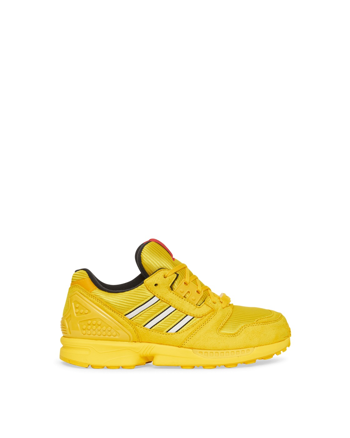 Photo: Adidas Originals Lego Zx 8000 Junior Sneakers Eqt Yellow/Ftwr White