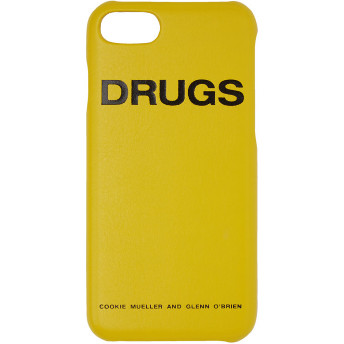 Photo: Raf Simons Yellow Drugs iPhone 7 Case
