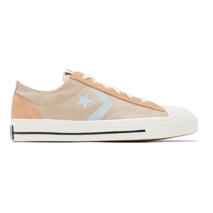 Photo: Converse Pink Star Player 76 Ox Sneakers