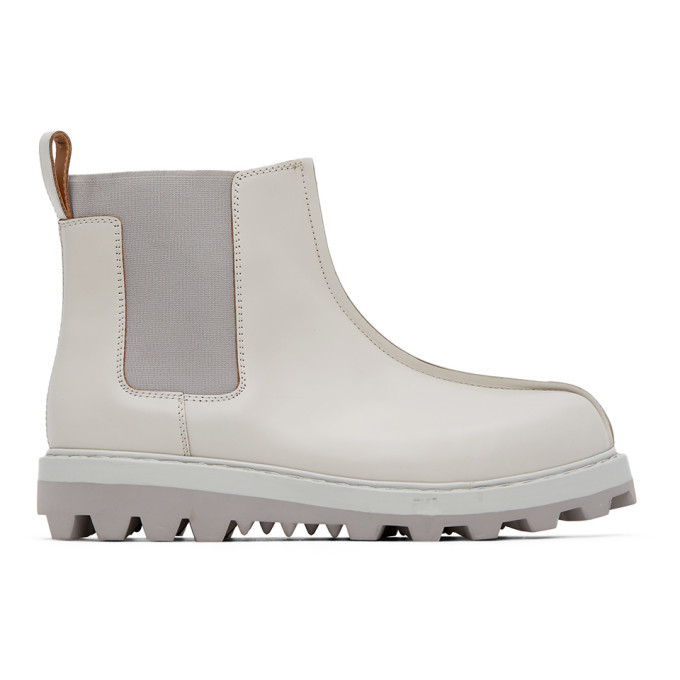 Photo: OAMC Off-White Exit Chelsea Boots
