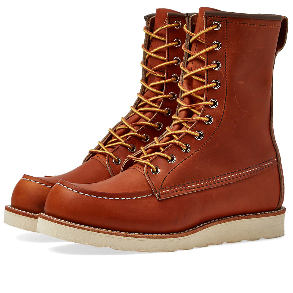 "Photo: Red Wing 877 Heritage Work 8"" Moc Toe Boot Oro Legacy"