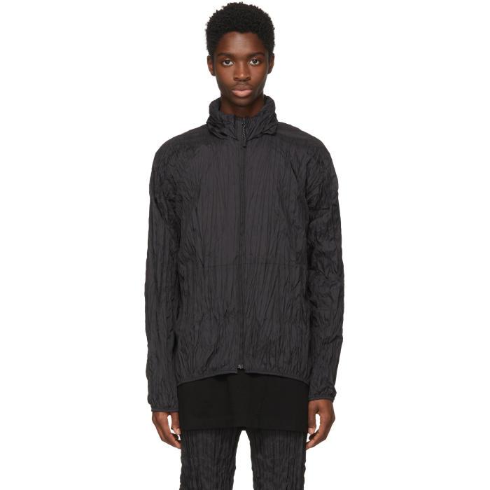 Photo: Issey Miyake Men Black Ruched Jacket