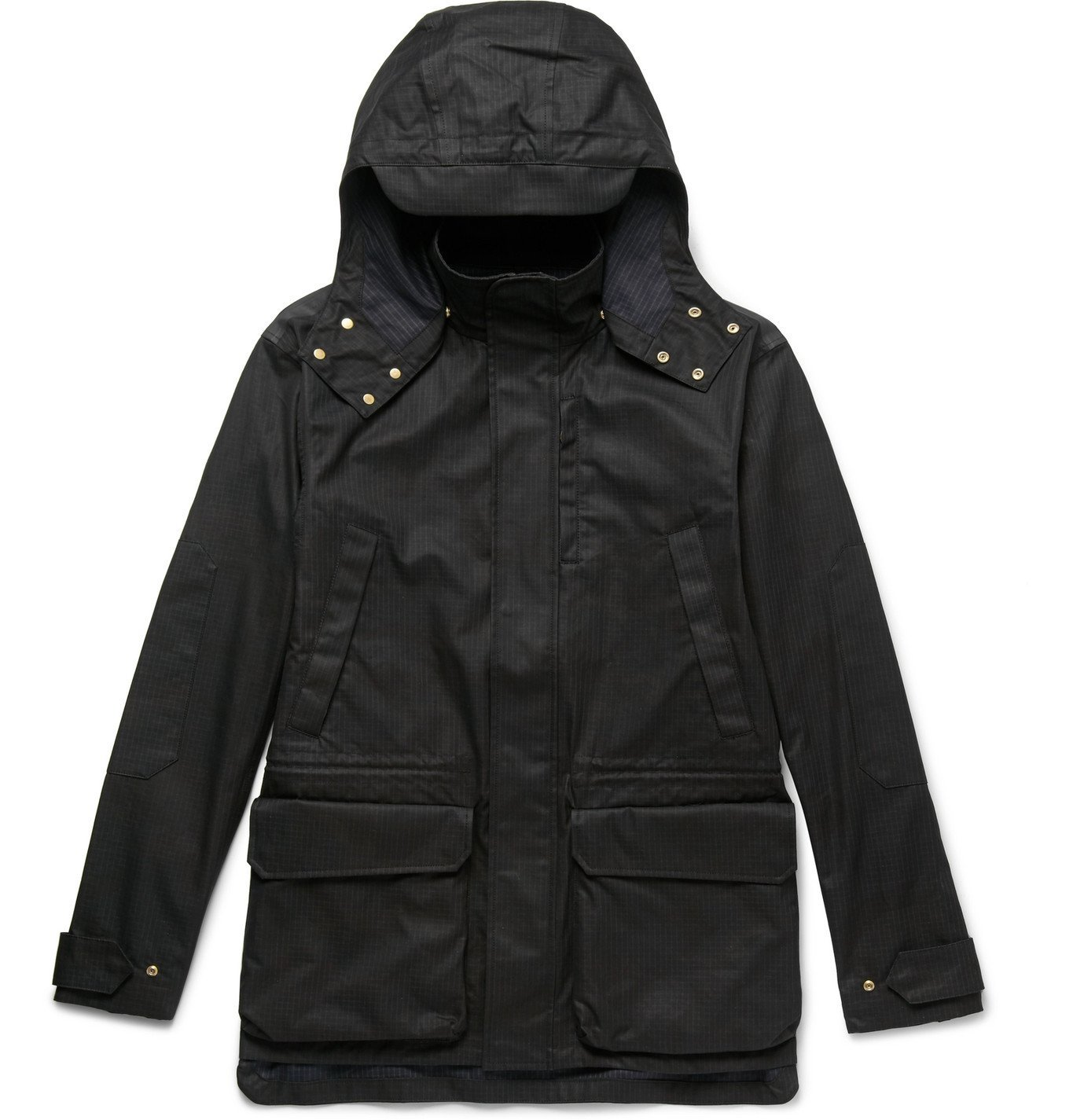 Photo: The Workers Club - Printed Cotton-Blend Ripstop Jacket - Black