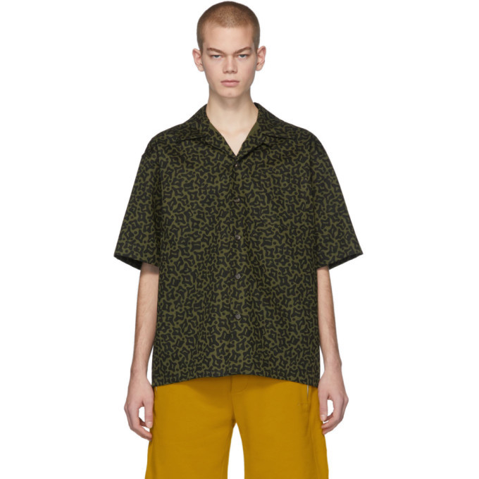Photo: Marni Green and Black Camo Cells Shirt