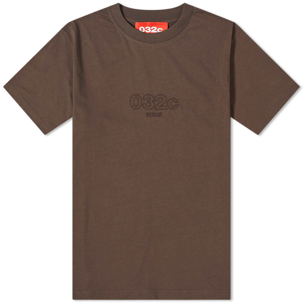 Photo: 032c Chest Logo Embroidered Tee