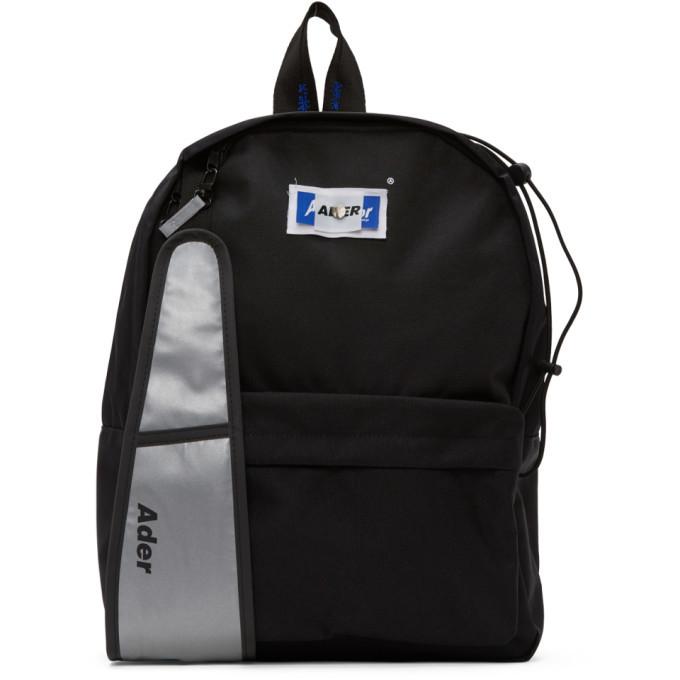 Photo: ADER error Black Rivet Label 2Way Backpack