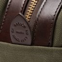 Filson - Leather-Trimmed Cotton-Canvas Wash Bag - Men - Green