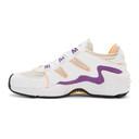 adidas Originals White and Orange FYW S-97 Sneakers