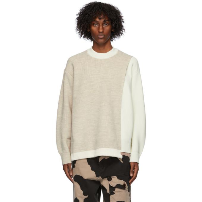Photo: Ambush Off-White Overlap Sweater