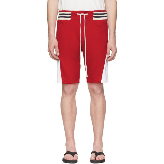 Photo: Greg Lauren Red Borg Shorts