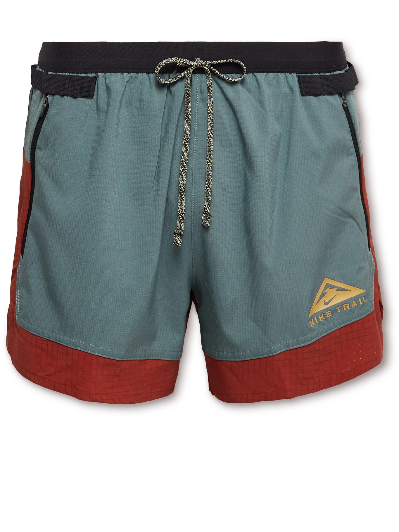 NIKE RUNNING - Flex Stride Dri-FIT Ripstop Shorts - Blue - M