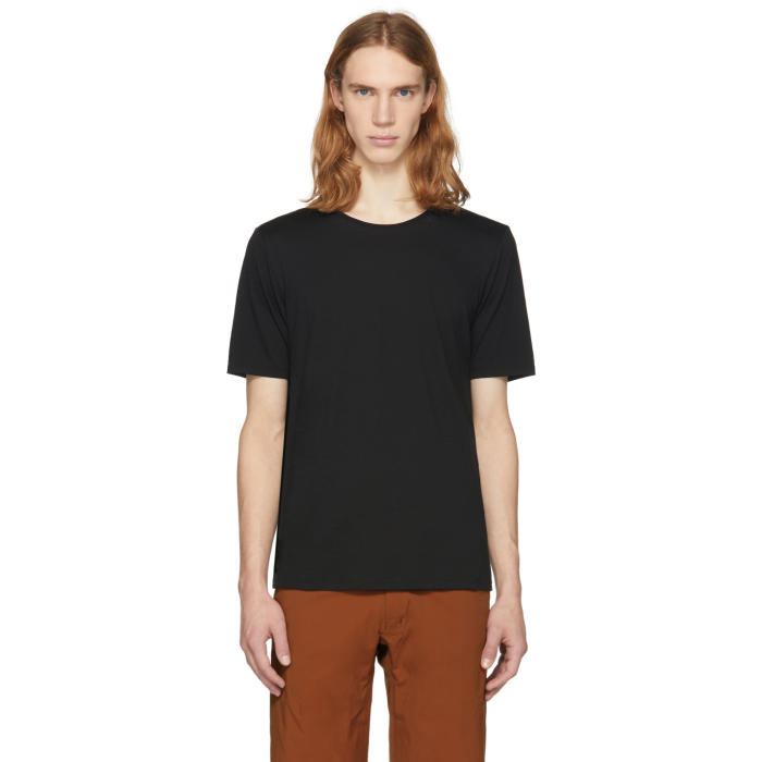 Arcteryx Veilance Black Merino Frame T-Shirt