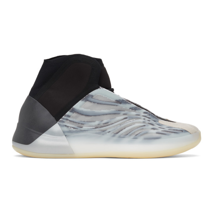 Photo: YEEZY Black and Blue YZY BSKTBL Sneakers