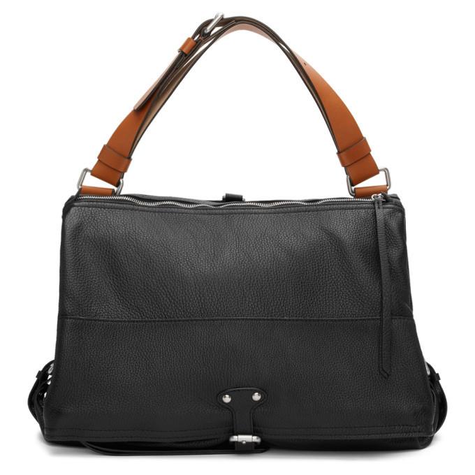 Photo: Maison Margiela Black Leather Flap Bag