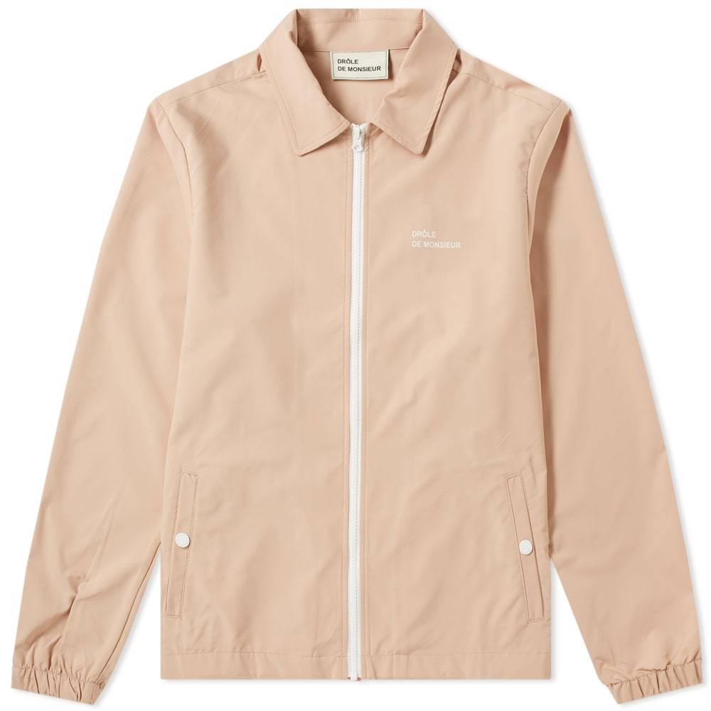 Photo: Drôle de Monsieur Not From Paris Coach Jacket Pink
