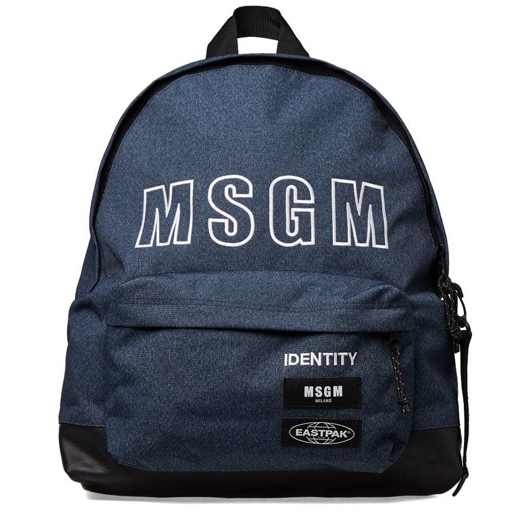Photo: Eastpak x MSGM Padded XL Backpack
