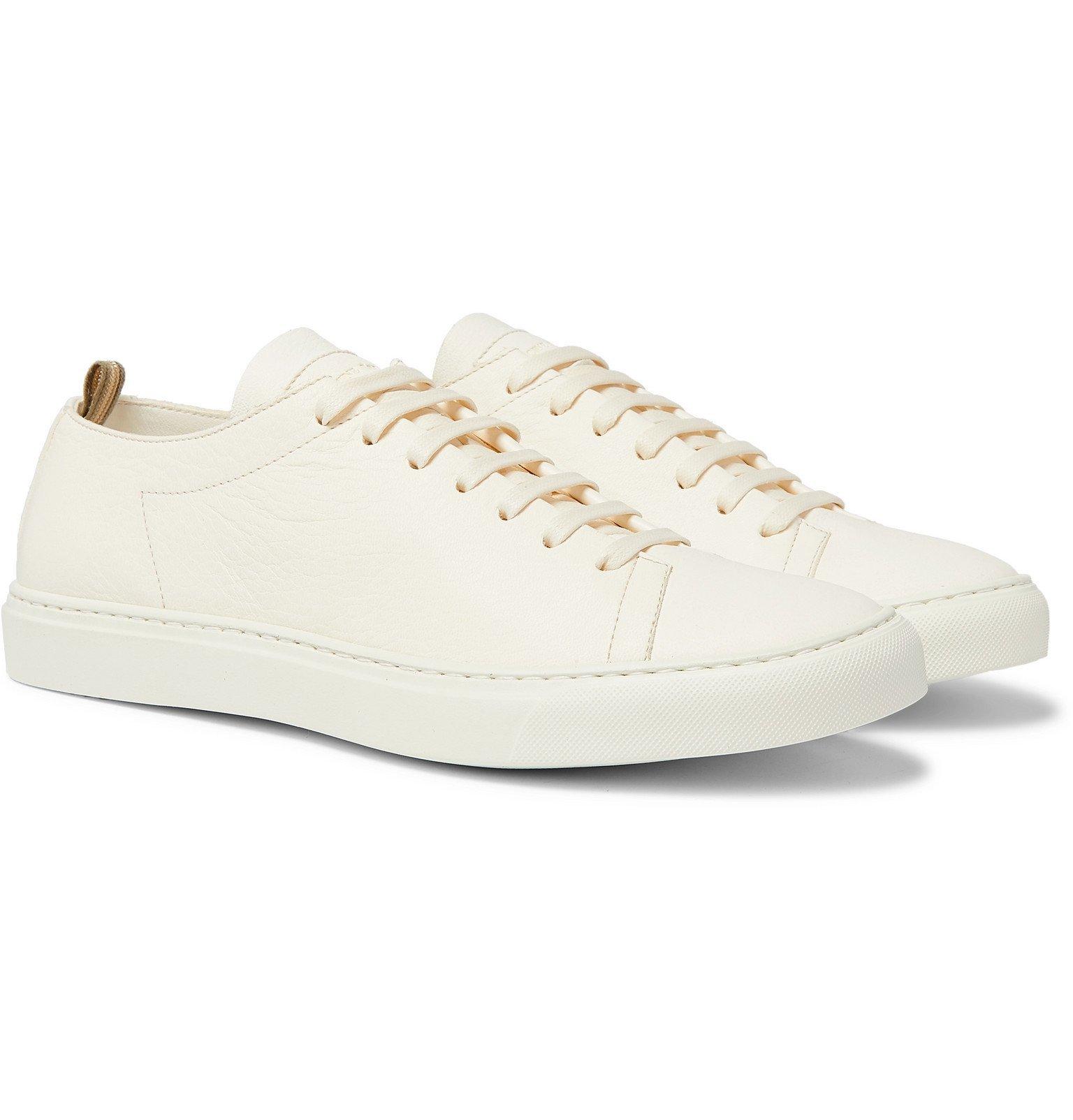 Photo: Officine Creative - Leggera Full-Grain Leather Sneakers - White