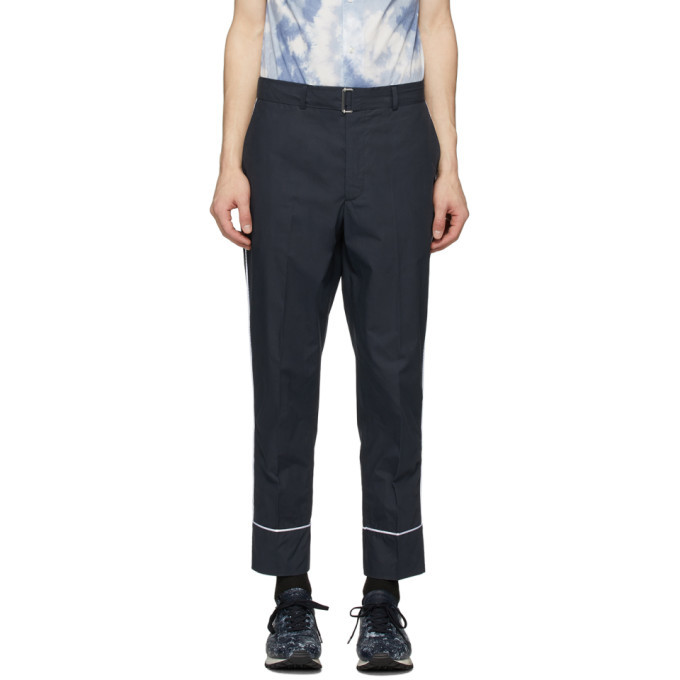Officine Generale Navy Pyjama Lucio Trousers