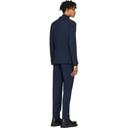 Giorgio Armani Navy Wool 2 Button Suit