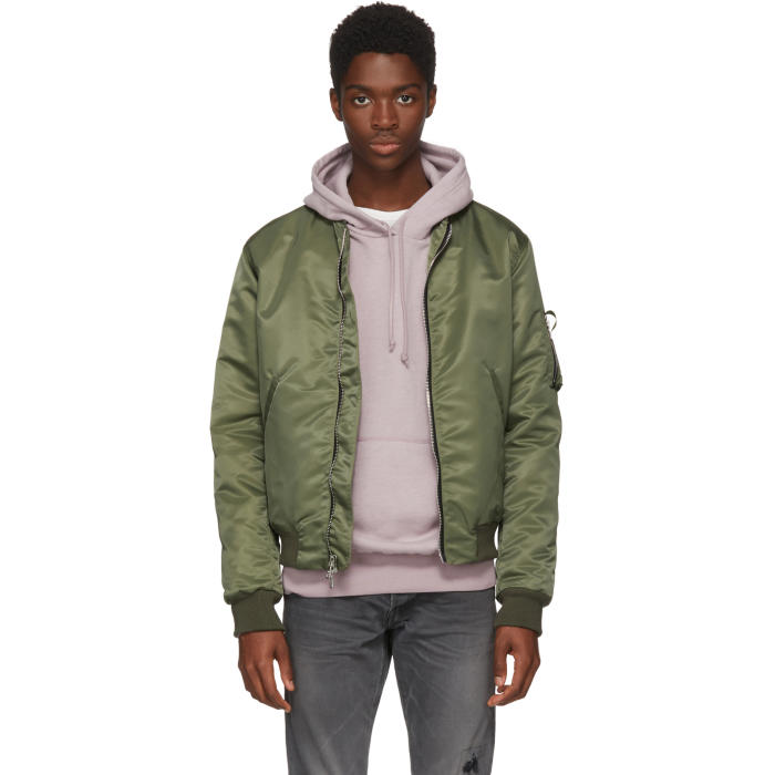 Photo: John Elliott Green Bogota Bomber Jacket